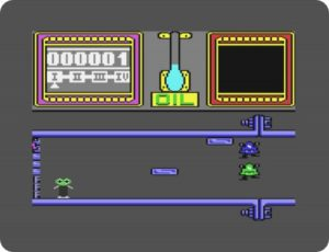 toas02 300x230 - Thing on a Spring (C64, 1985)