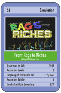 cardr2r 198x300 - Rags to Riches (C64, 1985)