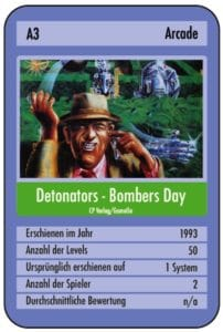 det7 202x300 - Detonators - Bombers Day (C64, 1993)
