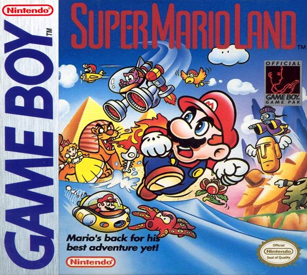 sml1 copy - Super Mario Land (Gameboy, 1989)