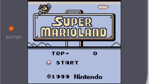 sml1 - Super Mario Land (Gameboy, 1989)