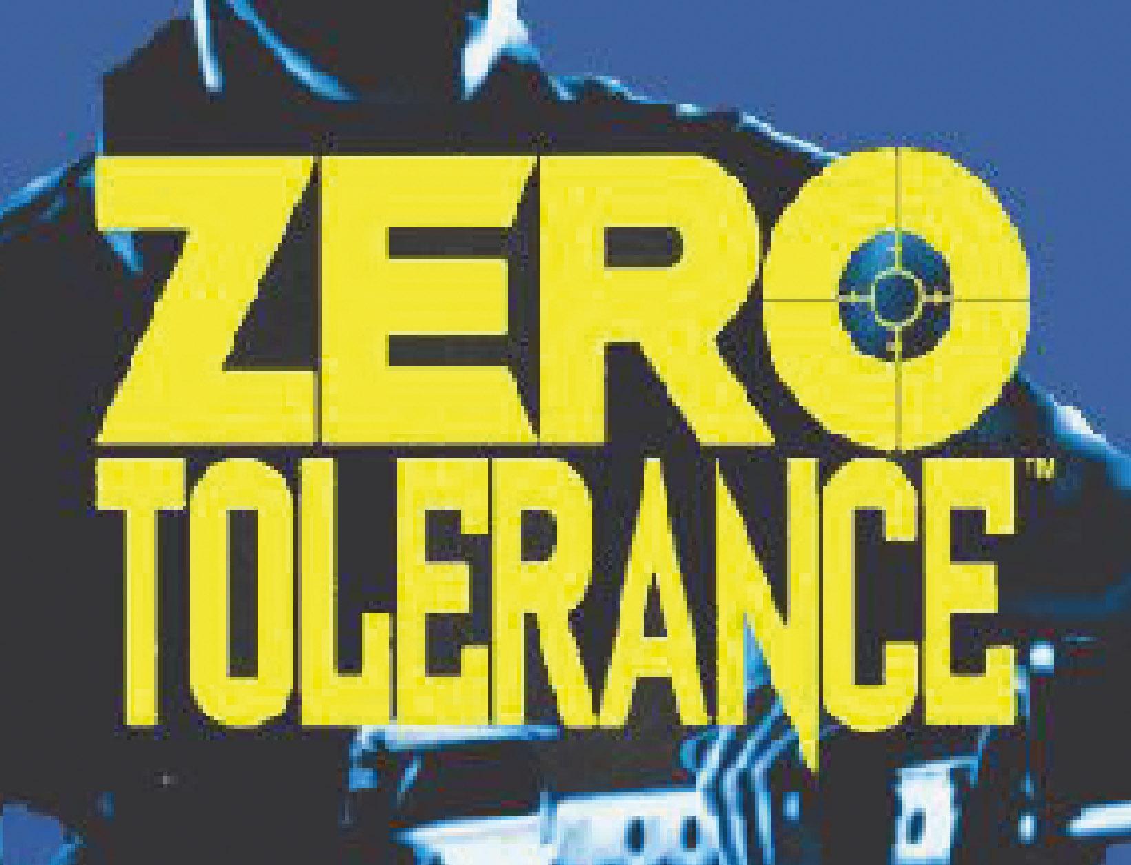 Zero Tolerance (Sega MegaDrive, 1994)