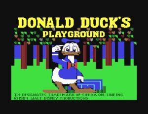 Bildschirmfoto 2017 06 17 um 01.12.30 300x231 - Donald Ducks Playground (C64, 1984)