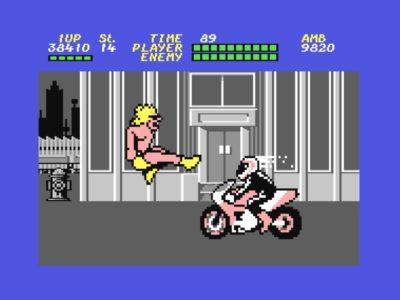 Motorradfahrer können nur mit einem gezielten Sprungtritt ausgeschaltet werden.