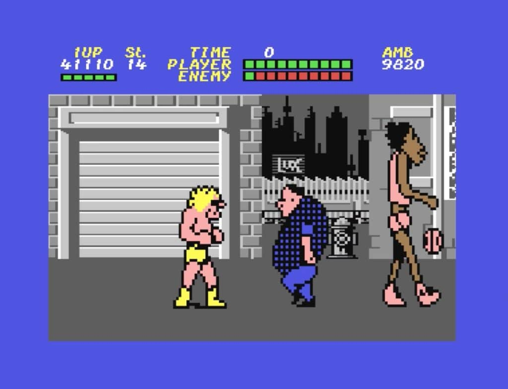 retropixels.at - Bop´ n Rumble (C64, 1987), Hulk Hogan ...