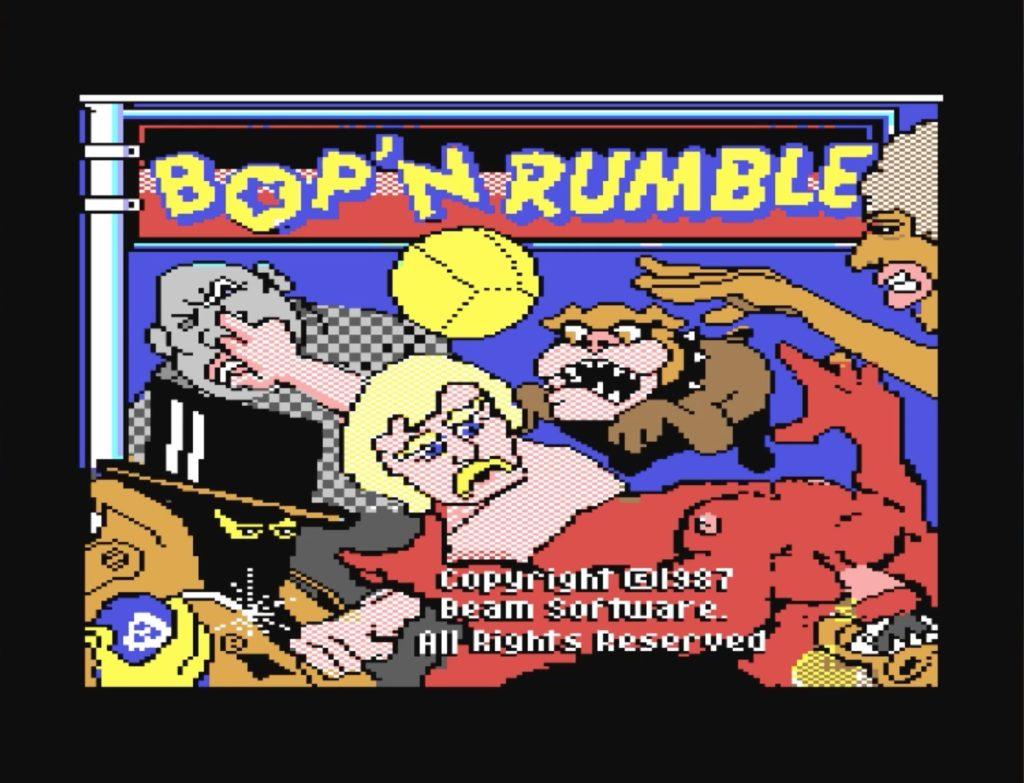Bildschirmfoto 2017 07 21 um 00.01.46 1024x783 - Bop´ n Rumble (C64, 1987)