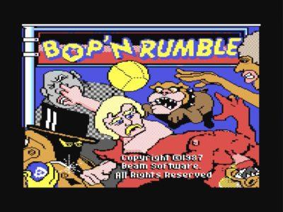 Bildschirmfoto 2017 07 21 um 00.01.46 400x300 - Bop´ n Rumble (C64, 1987)