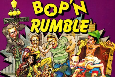 bopcov 480x320 - Bop´ n Rumble (C64, 1987)