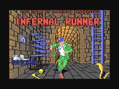 Bildschirmfoto 2017 08 16 um 06.55.22 400x300 - Infernal Runner (c64, 1985)