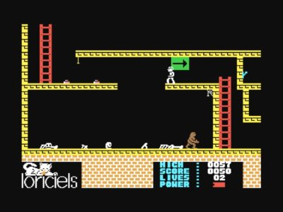 Bildschirmfoto 2017 08 16 um 06.57.55 400x300 - Infernal Runner (c64, 1985)