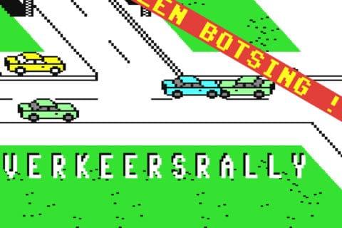 vrallybbi 480x320 - Verkeersrally (C64, 1985)