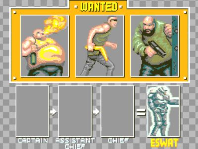 Erst die drei bösen Buben verhaften, dann gibts das Megaman Outfit.