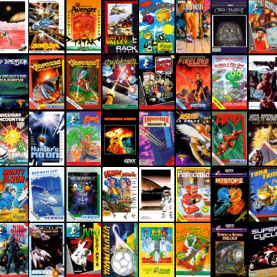 Diese 64 Spiele soll die Spiele soll die Bibilothek des The C64 umfassen