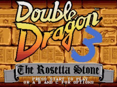 Bildschirmfoto 2017 11 29 um 22.07.19 400x300 - Double Dragon III - The Rosetta Stone (Sega Mega Drive, 1992)