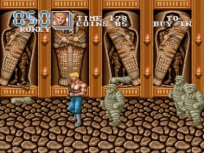 Bildschirmfoto 2017 11 29 um 22.14.01 400x300 - Double Dragon III - The Rosetta Stone (Sega Mega Drive, 1992)