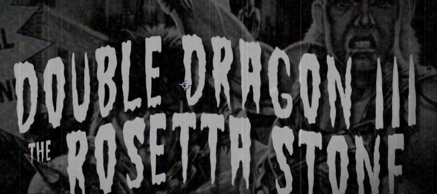 dd3bb 900x400 - Double Dragon III - The Rosetta Stone (Sega Mega Drive, 1992)