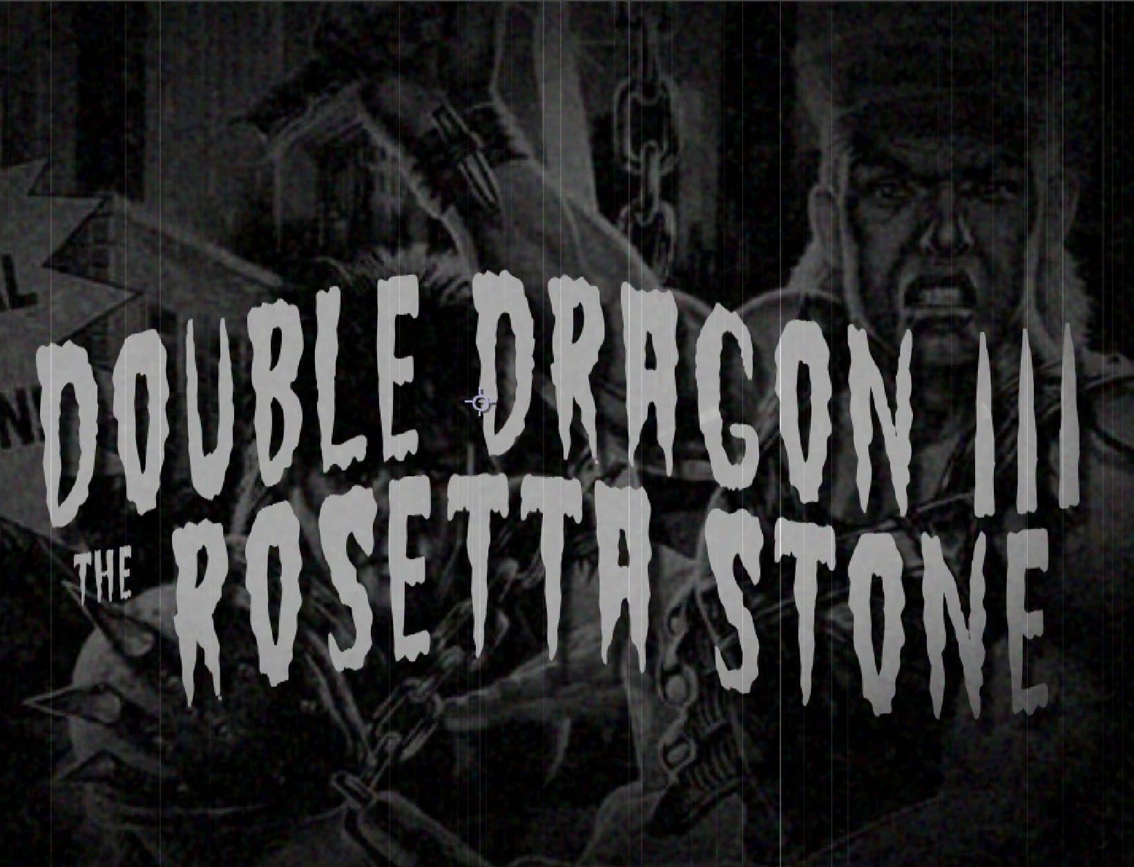 dd3bb - Double Dragon III - The Rosetta Stone (Sega Mega Drive, 1992)