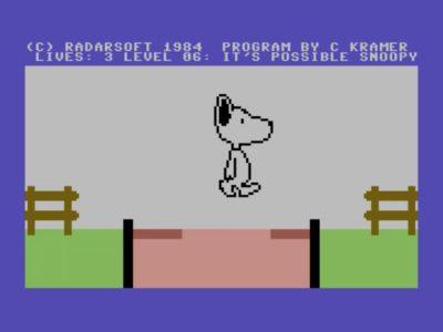 Snoopy bleibt auch nichts erspart - sogar Lavaseen muss er überqueren.
