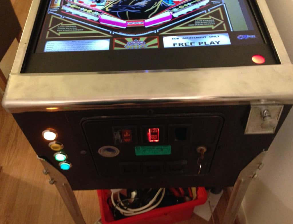 cab7 1024x783 - DIY Arcade Teil 2 - Der echt unechte Flipper