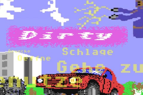 dirtybb 480x320 - Dirty (C64, 1991)