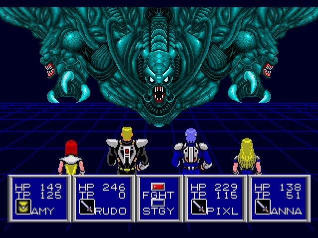 psii6 - #PileofNothing - Phantasy Star II beendet!