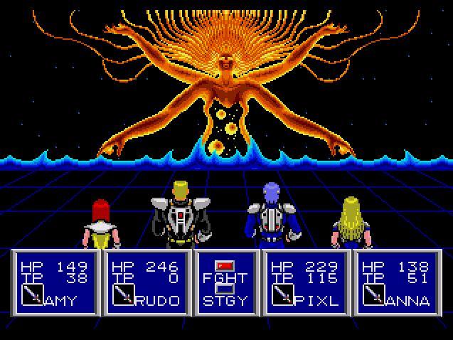 psii7 - #PileofNothing - Phantasy Star II beendet!