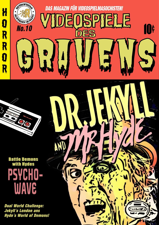 drjekyllvidgra - #VidGra - Dr. Jekyll and Mr. Hyde (NES, 1988)