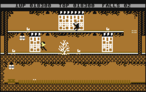 bl3 300x189 - Bruce Lee (C64, 1984)