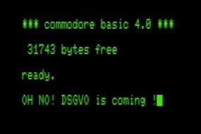 DSDS? GNTM? Nein, DSGVO!