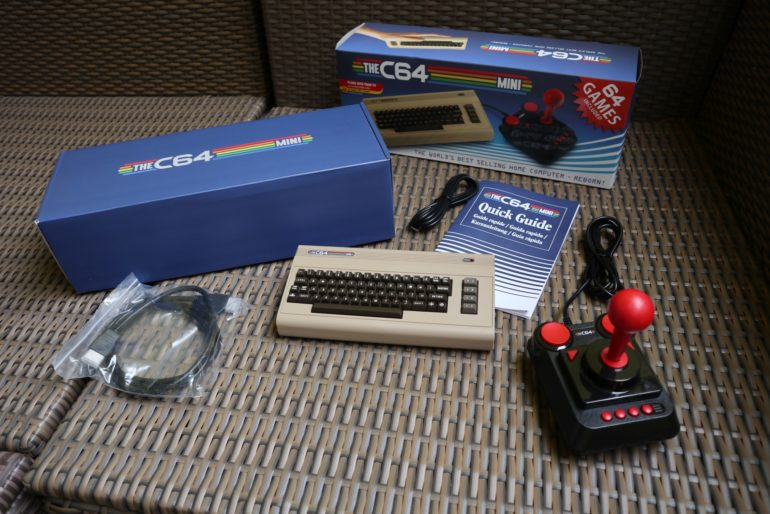 TheC64 Mini – bald ists so weit
