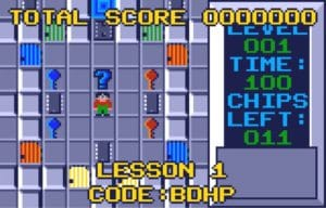 cc3 300x192 - Chip´s Challenge (Atari Lynx, 1989)
