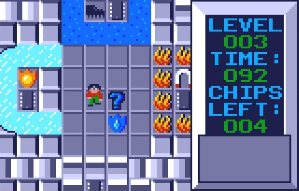 cc4 - Chip´s Challenge (Atari Lynx, 1989)