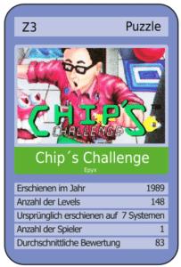 cccard 203x300 - Chip´s Challenge (Atari Lynx, 1989)
