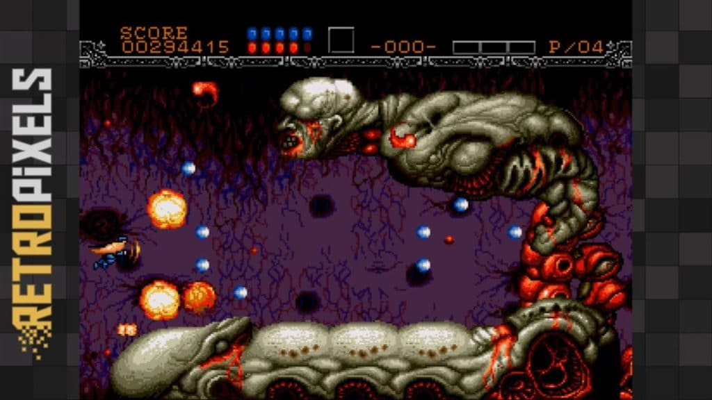 gyn4 1024x576 - Gynoug (Sega MegaDrive, 1991)