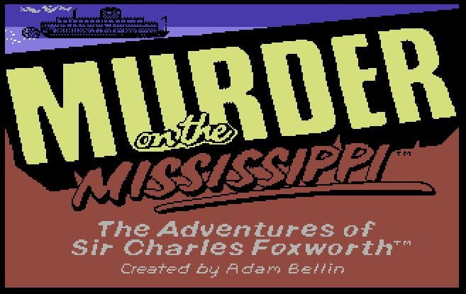 murd0 - Murder on the Mississippi (C64, 1986)