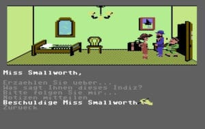 murd4 300x189 - Murder on the Mississippi (C64, 1986)