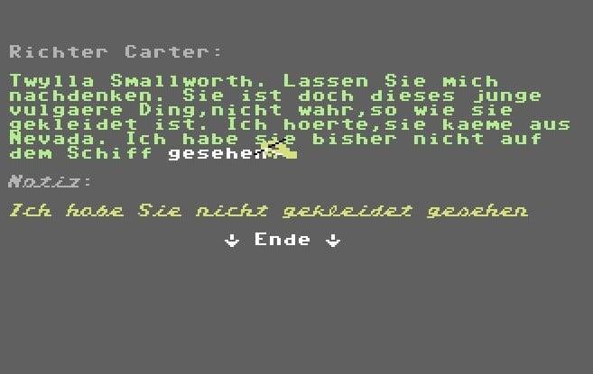 murd6 - Murder on the Mississippi (C64, 1986)