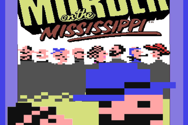 Murder on the Mississippi (C64, 1986)