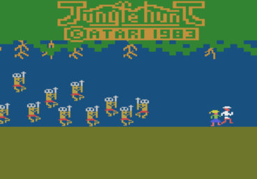 Jungle Hunt (Atari 2600, 1983)