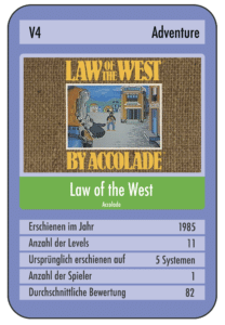 670DE322 8B80 4988 A7E1 15F33BDACFC5 e1535230426815 208x300 - Law of the West (C64, 1985)