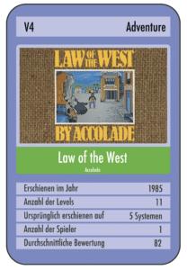 670DE322 8B80 4988 A7E1 15F33BDACFC5 e1535230426815 208x300 - Law of the West (C64, 1985)
