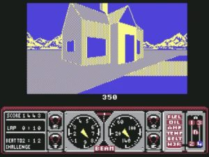 Hard Drivin 13 300x225 - Crossover - Superspecial: Hard Drivin' (C64/PC, 1989)