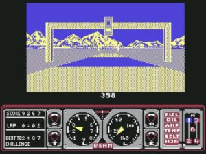 Hard Drivin 3 300x225 - Crossover - Superspecial: Hard Drivin' (C64/PC, 1989)