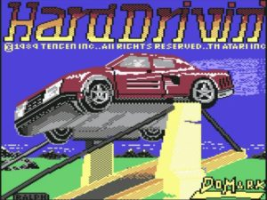 Hard Drivin C64 300x225 - Crossover - Superspecial: Hard Drivin' (C64/PC, 1989)