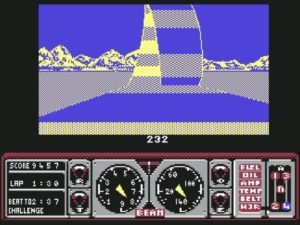 Hard Drivin  10 300x225 - Crossover - Superspecial: Hard Drivin' (C64/PC, 1989)