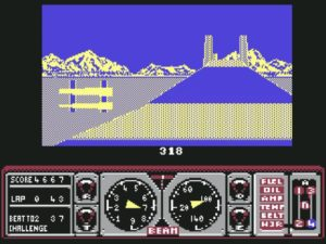 Hard Drivin  7 300x225 - Crossover - Superspecial: Hard Drivin' (C64/PC, 1989)