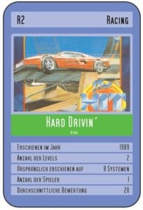 card HD 1 204x300 - Crossover - Superspecial: Hard Drivin' (C64/PC, 1989)