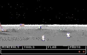 otm7 300x188 - On the Moon (C64, 1991)
