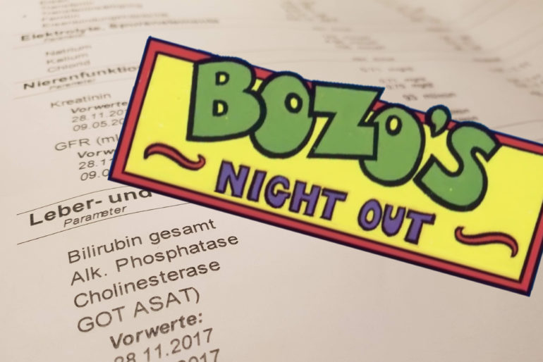 Bozos Night Out (C64, 1984)
