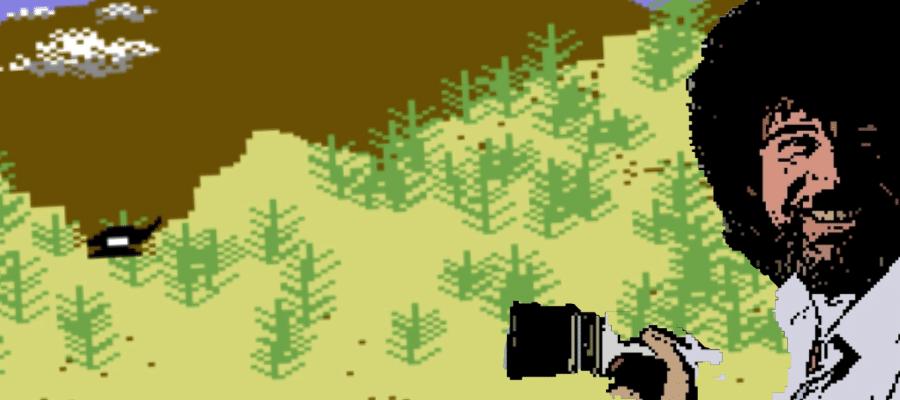 Artillery Duel - Artillery Duel (C64, 1983)